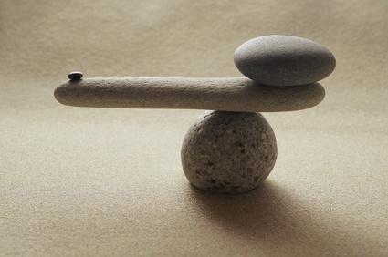 Zen Gleichgewicht